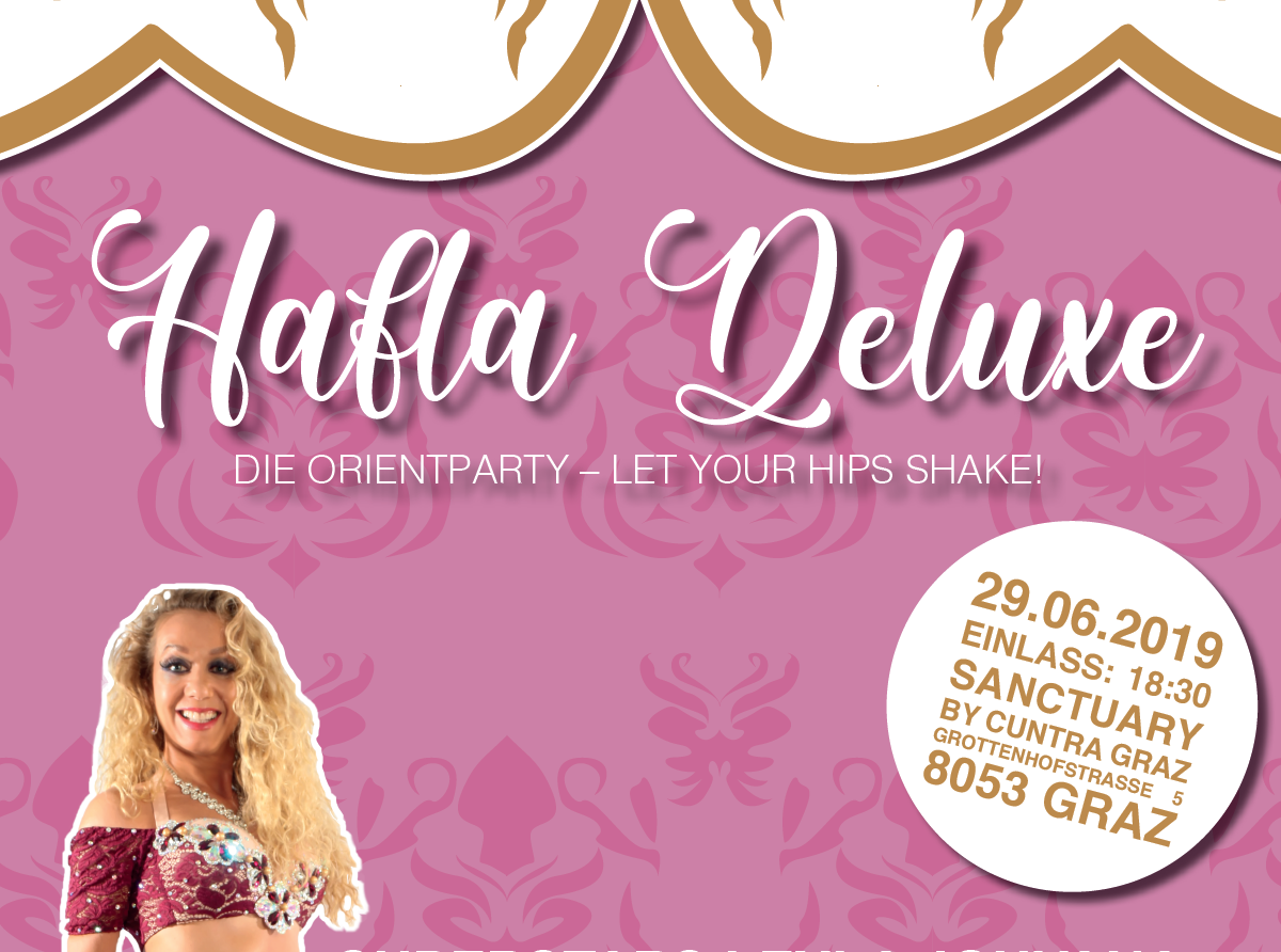 Hafla Deluxe – die Orient-Party am 29.06.2019